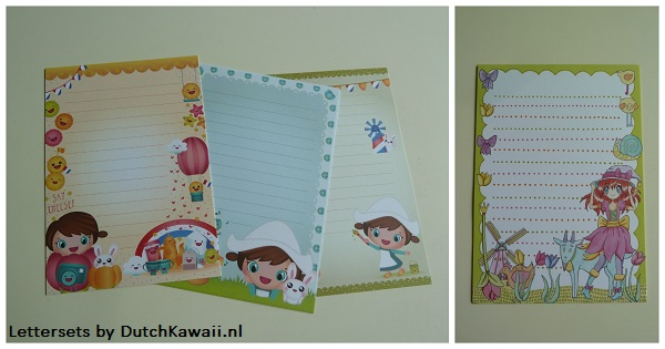 DutchKawaii Lettersets