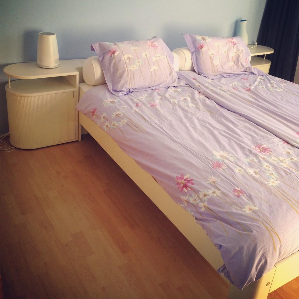 Mijn nieuwe bed