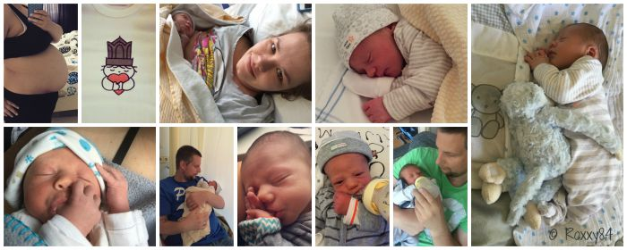 Marcel bevalling en eerste week