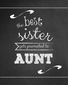 ik word tante
