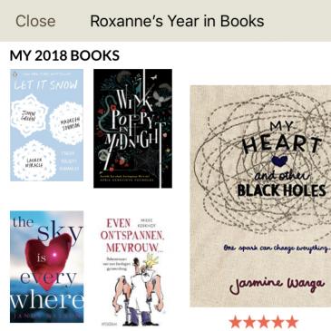 Het jaar 2018 in boeken