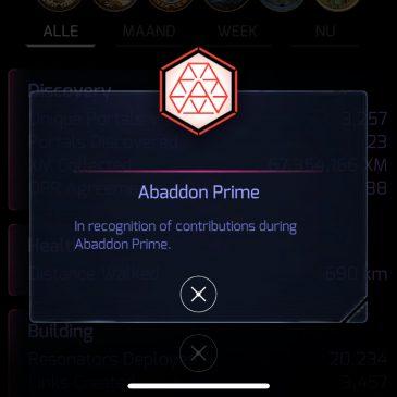Abaddon Prime Anomaly in Amsterdam