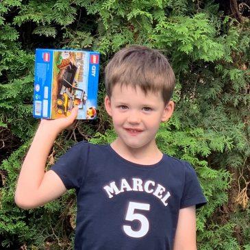 Verjaardagsweekend: Marcel wordt 5 jaar